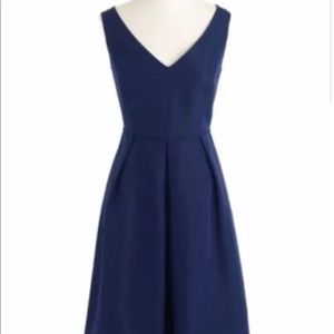 JCREW Haven Blue Bridesmaids Dress Size 0